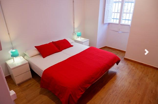 Habitación Doble. Sweet Sevilla Hostel